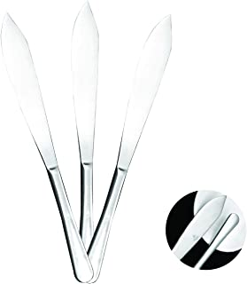 Mr. Spoon 3 Cuchillos de Tartas Acero INOX Colección Minimal 28,3 x 3,12 cm