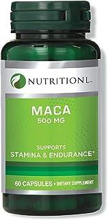 Nutritionl Maca 500 mg 60 Capsules