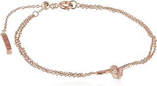 Olivia Burton Women'S Brass Rose Gold Chain Bracelets One Size -OBJ16AMB26