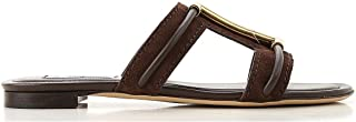 Luxury Fashion | Tod's Women XXW37B0BD70RE0S611 Brown Leather Sandals | Spring-summer 20