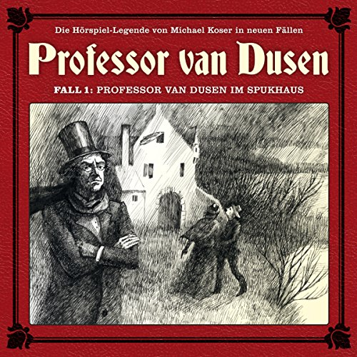 Professor van Dusen im Spukhaus audiobook cover art