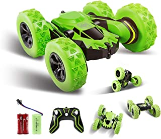 Innoo Tech RC Stunt Car Rechargeable Racing Car with 2.4Ghz Remote Control, High Speed Car Toys 4WD Double Sided 360° Spin...