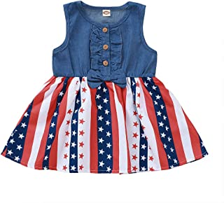 Guyay Newborn Infant Baby Girl Long Sleeve Floral Dress Toddler Ruffle Pleated Midi Dress
