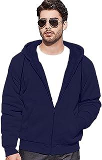 Sweatshirt melton Zipper with Fur inside from Groowii سويتشيرت ميلتون بسوستة مبطن فرو من جرووي