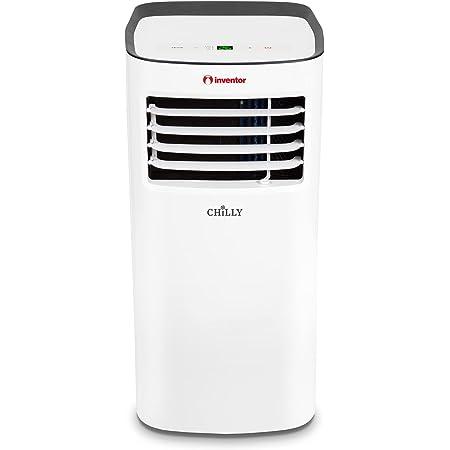 Inventor Chilly, Aire Acondicionado Portátil R290 de 2270 frigorías - 9000BTU/h, 3 modos en 1 (Refrigeración, Deshumidificación, Ventilación), Mando a Distancia - 2 años de garantía