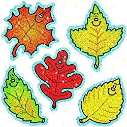 Dazzle Stickers Fall Leaves 75 pk