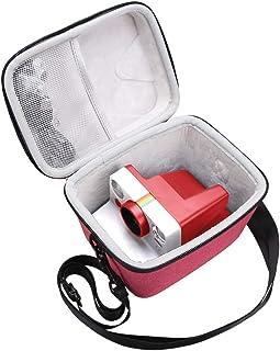 Aproca Hårt skyddande fodral för polaroid original OneStep+/polaroid nu I-typ omedelbar kamera (röd)