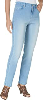 Gloria Vanderbilt Amanda Classic Fit Tapered Leg Women's Jeans (24W Average, Blue Jay Wash)
