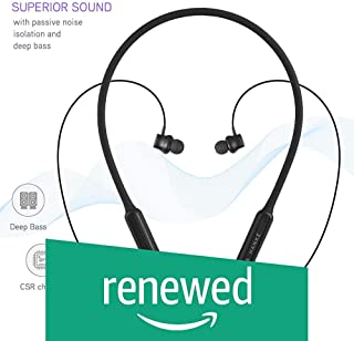 (Renewed) Gunter & Hanke Shadow X5 In-Ear Bluetooth Wireless Earphone with Mic with Silicon Body Heavy Bass and Magnetic on-Off Function