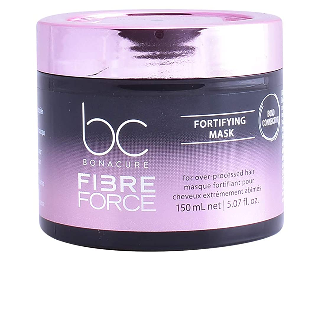 作り祝福するマイコンシュワルツコフ BC ボナキュア ファイバー フォース フォーティファイ マスク Schwarzkopf BC Bonacure Fibre Force Fortifying Mask for Over-Processed Hair 150 ml [並行輸入品]