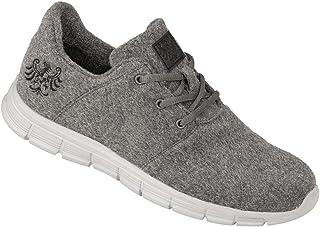 Tiroler Loden Merino-Sneakers, Bequeme Turnschuhe für Frauen & Männer, geruchsneutral, warme Schuhe mit schrittdämpfender ...