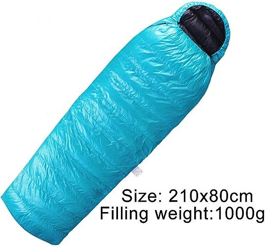 KKSLSVF Sac de Couchage Sac de Couchage de Camping en Plein air Enveloppe Ultra légère