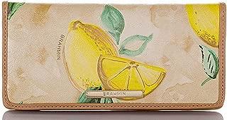 Brahmin Amalfi Collection Lemon Ady Wallet