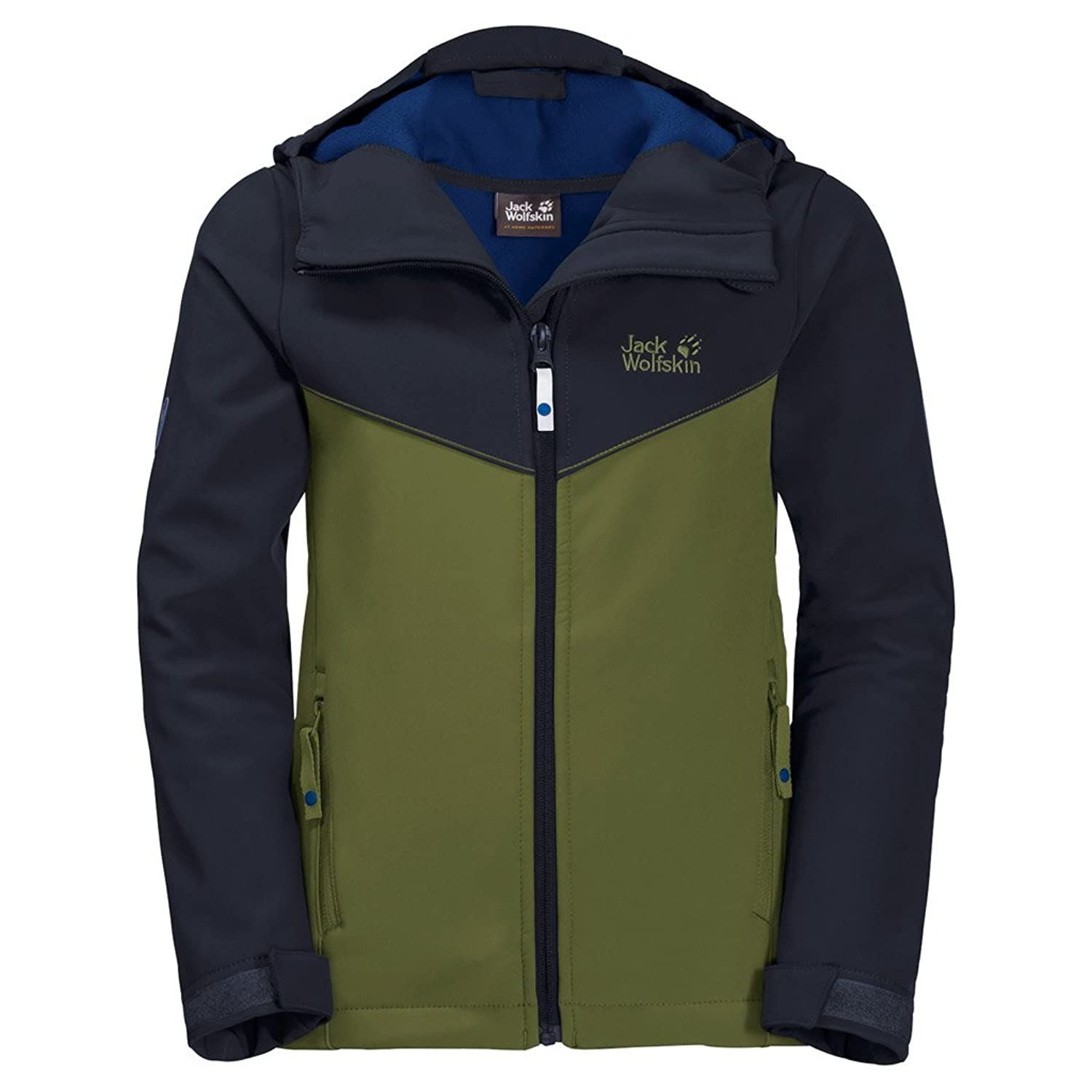 Jack Wolfskin Kids OUTERWEAR ボーイズ US サイズ: 11-12 Years カラー: グリーン