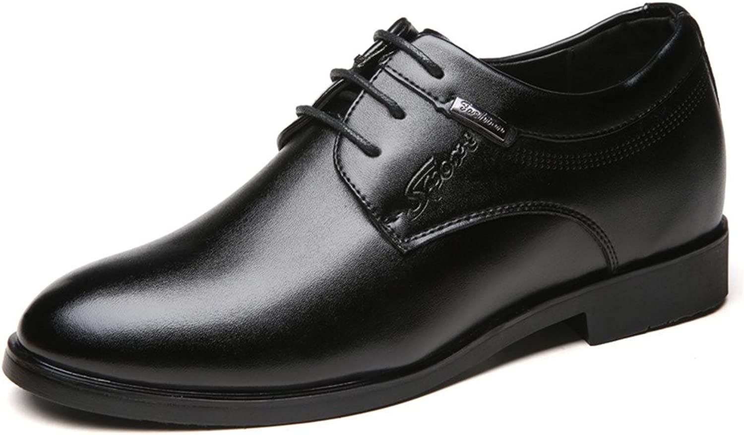 Mens Casual Lace Ups with Heel Inside