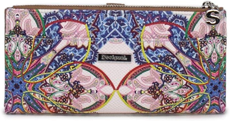 Desigual Women's 19SAYP26blueE bluee Faux Leather Wallet