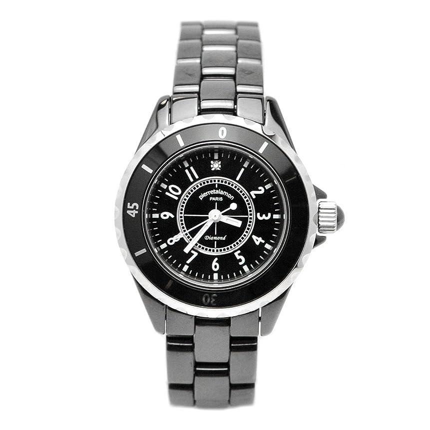 名誉有毒な政治家[ピエールタラモン] 腕時計 PT-1600L-BK ブラック