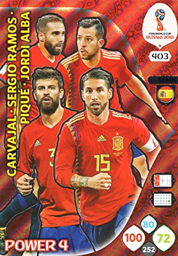 Panini coupe du monde Russia 2018-Nº 404-Allemagne-Power 4