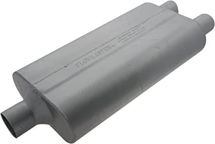 Aggressive Sound 2.00 Dual OUT 2.25 Center IN Flowmaster 9424402 40 Delta Flow Muffler