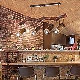 HYLH Retro Seil Schlafzimmer Wohnzimmer Bar Theke Cafeacute; Land Bambus Holz Strahler (Farbe :...