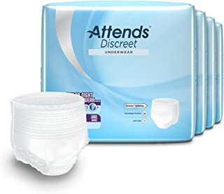 attends extended wear diapers