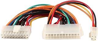 Bluecharge Direct c/âble dextension ATX 24/broches m/âle vers 24/broches femelle Interne PC PSU alimentation