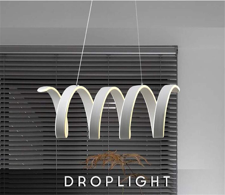 Pendant Lamp,LED Creative Spring Metal Pendant Light,Livingroom Ceiling Light Decoration Warm White 300mm×620mm