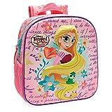 Disney Princesas Rapunzel Mochila Preescolar frontal 3D Multicolor 23x25x10 cms Poliéster...
