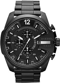 Diesel Mega Chief Analog Black Dial Men's Watch - DZ4283