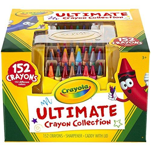 2 PACK Crayola Ultimate Crayon Case, 152-Crayons