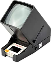KODAK 35mm Slide and Film Viewer – Battery Operation, 3X Magnification, LED Lighted..
