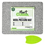Wool Pressing Mat for Quilting, Wool Ironing Mat for Quilters, Iron Mat for Table Top Ironing Board Tabletop, Quilting Supplies, Sewing Supplies Notions, Sewing Accessories and Supplies, Ironing Pad