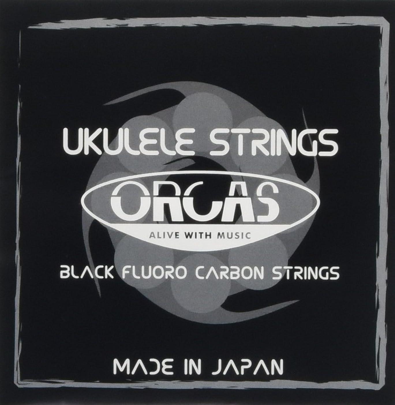 大型トラックスポーツマン世界記録のギネスブック【ORCAS】 ウクレレ弦 セット OS-TEN (テナー用)