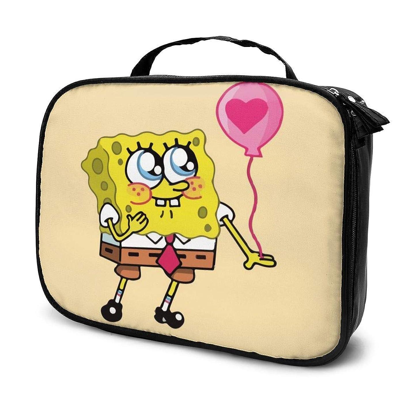 メディック岩番号Daituスポンジ 化粧品袋の女性旅行バッグ収納大容量防水アクセサリー旅行