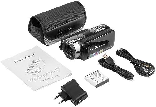 Zinniaya Grabador de cámara de Video Digital Full HD 1920x1080 Máx. 24 megapíxeles Zoom 16X