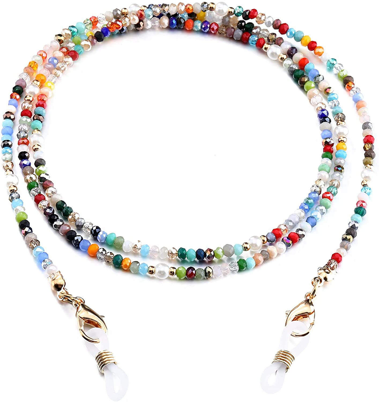 mart lowest price humlbird Mask Lanyard Eyeglasses Chain Healing Beaded Su Crystal
