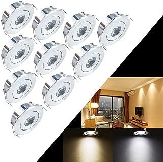Best 1 watt led mini recessed light fixture Reviews