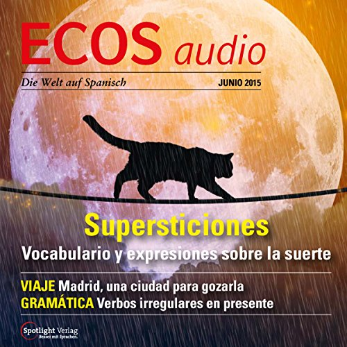 ECOS Audio - Supersticiones. 6/2015 Titelbild
