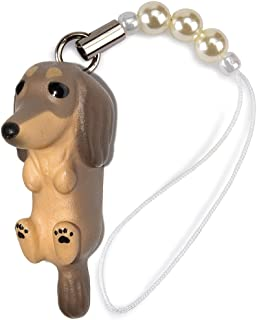 ペットラバーズ 犬種 Dog 92 Dachshund ダックス チョコレートタン ビーズ ストラップ DN-3002