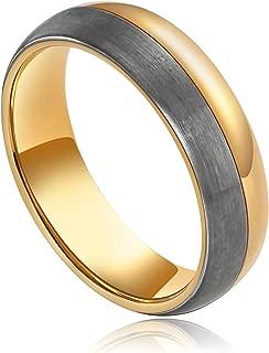 Aooaz Stainless Steel Ring Men Boy Round Wedding-Ring Banquet Valentines Gift