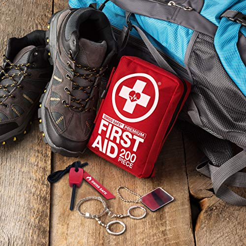 Swiss Safe 200 Piece Premium First Aid Kit