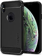 Spigen Rugged Armor Case Designed for iPhone X (2017) iPhone Xs (2018) - Matte Black