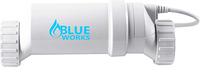BlueWorks BLT3 Cell|T-Cell-3 Compatible with Hayward Goldline AquaRite Systems | Cell Plates Made by USA Company | 5 Year Limited Warranty (White)