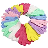 Best Exfoliating Gloves - 14 Pairs Double Sided Exfoliating Gloves,Scrub Exfoliating Mitts,Shower Review