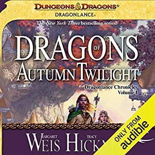 Dragons of Autumn Twilight cover art
