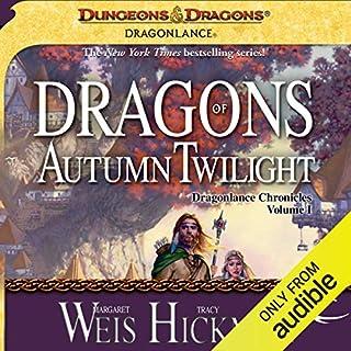 Couverture de Dragons of Autumn Twilight