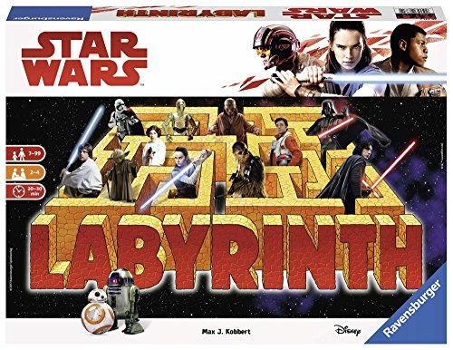 Ravensburger Star Wars Labyrinth - The Last Jedi - The Moving Labyrinth