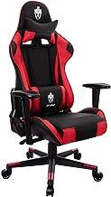 Cadeira Gamer Evolut Eg-900 vermelha e preta