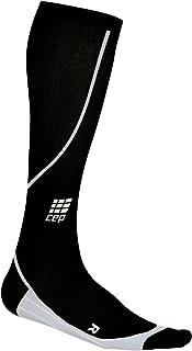 CEP Men's Running Progressive Compression Socks (Black - V (17.25-20 inch calf))