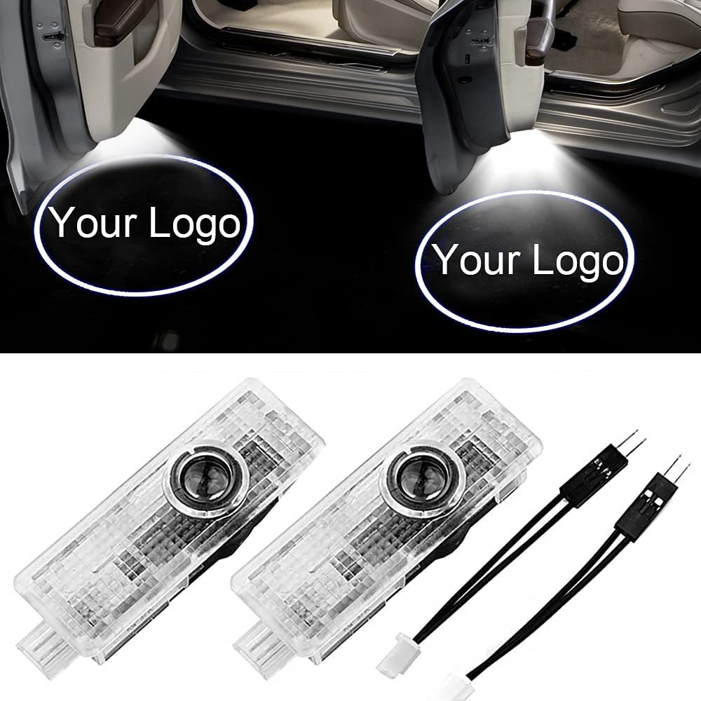 NewL Custom Logo LED Max 54% OFF Car Lights Door Projector Welcome Compatibl Charlotte Mall